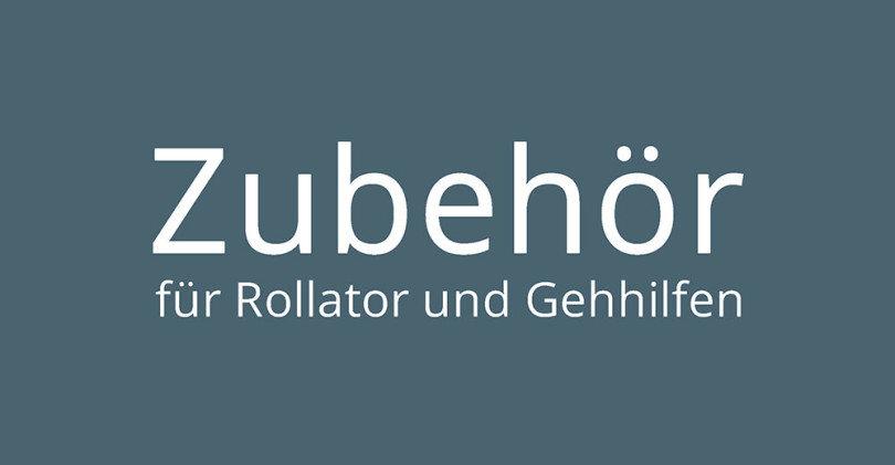 Rollator Zubehör