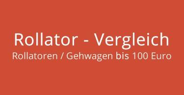 Rollator bis 100 Euro